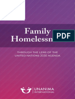 Family Homelessness UNANIMA Report