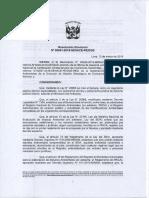 RESOLUCIÓN DIRECTORAL N° 00001-2019