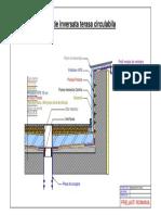 Detaliu tehnic - acoperis circulabil stratificatie inversata