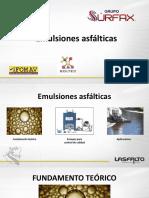 Emulsiones asfálticas