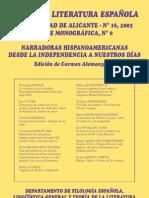Anales de la Literatura española. Rosario Ferré y Virginia Woolf o del impacto de ciertos feminismos en hispanoamérica