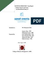 OB Final Culture Report-Sikandar