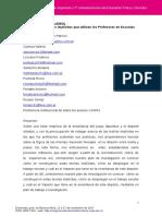Calvo Etcheverry_2017_enseñanza del  volley_estudio de las teorías implícitas