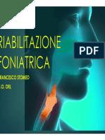 La riabilitazione foniatrica
