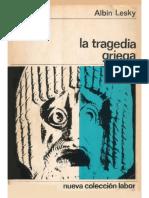 Albin Lesky Tragedia Griega La