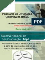 Seminário divulgação científica Ppt