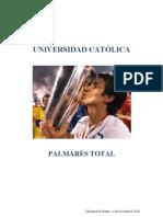 Palmarés de Universidad Católica