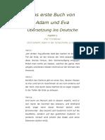 Das erste Buch von Adam und Eva Übersetzung ins Deutsche.docx