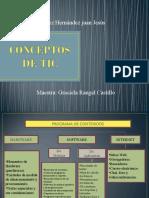 Conceptos de Tic. Juan Jesus E. H.