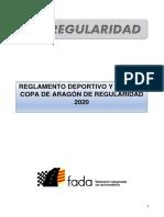 Reglamento Deportivo y Tecnico Copa de Aragon de Regularidad 2020