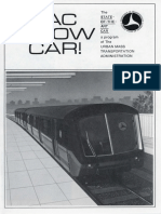 State of the Art Subway Car Brochure