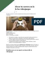 Industria de Los Videojuegos