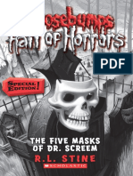 Goosebumps Hall of Horrors 3 The Five Masks of Dr Screem Special Edition