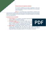 Definiciones étnicas de la legislación colombiana
