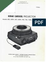 Service-Manual-Kodak-Carousel-600_600H_650_650H_700_750_750H_800_800H