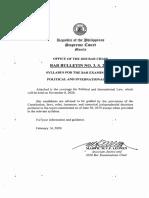 Political Law 2020 Bar Syllabus.pdf