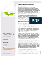 Fitoterapia Unidade 2 Medicina Alternativa