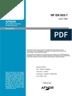 NF EN 933-7