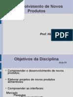 Aula1 -Desenvolvimento de Produtos