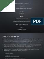 Presentación1.1 tipos de obra civil -correccion