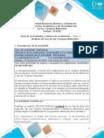 Guía de Actividades y Rúbrica de Evaluación - Fase 2 - Análisis de una de las terapias naturales
