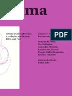 CISMA Revista de crítica literária