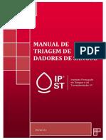 ManualTriagemDadoresSangue2014