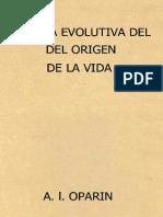 Teoría evolutiva del origen de la vida - A. I. Oparin-LIBROSVIRTUAL.COM