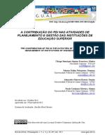 A CONTRIBUIÇÃO DO PDI NAS ATIVIDADES DE PLANEJAMENTO E GESTÃO DAS INSTITUIÇÕES DE EDUCAÇÃO SUPERIOR.pdf