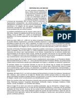 HISTORIA DE LOS MAYAS, preclasi