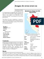 Epidemia de dengue de 2019-2020 en Perú