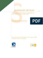 FLACSO - Sistematización de leyes relacionadas con Salud Sexual y Reproductiva y VIH-SIDA en Chile 1990 a 2007 - 2008