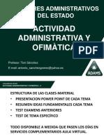 PRESENTACION_TEMAS_ACTIIDAD_ADMINISTRATIVA_Y_OFIMATICA_TONI