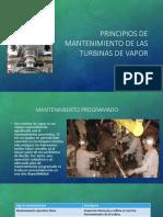 Principios de mantenimiento de las turbinas de vapor
