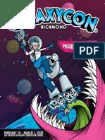 GalaxyCon Richmond Program Guide Feb 28 - Mar 1, 2020