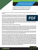 Tanggapan Herbalife Nutrition Indonesia_1
