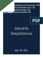 GeofisicaMarinha Sísmica de Alta Resolução