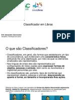 INTRODUÇÃO de LIBRAS - Classificador Em Libras