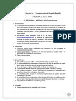 Reglas 1era Competencia Esquila Rápida ASOGAMA