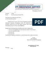 Surat Permohonan Tambah PTK