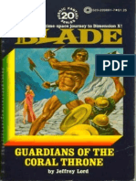 Blade 20 - Guardians of the Coral Throne - Jeffrey Lord.epub