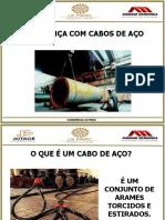 TREINAMENTO CABOS DE AÇO