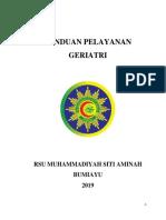 PANDUAN GERIATRI 2019