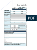 social pension beneficiary form