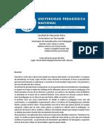 Introduccion a la pedagogia protocolo (LAURA DANIELA RUBIANO MORALES)