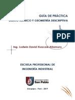 Guía de Dibujo Técnico y Geometría Descriptiva - Ing. Ludwin
