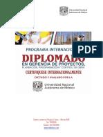 BROCHURE DIPLOMADO UNAM