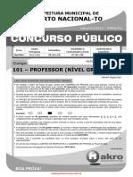 101_PROFESSOR _NÍVEL GRADUADO_