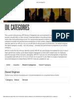 API _ Oil Categories