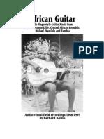 African Guitar Gerard Kubik